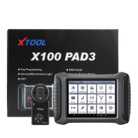 XTOOL X100 PAD 3 Key Programmer X100 PAD III tablet Car Key Anti-Theft Machine With KC100 And EEPROM Adapter Update Online No Vehicle Limitation