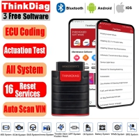 LAUNCH X431 ThinkDiag EasyDiag 3.0 OBD2 Scanner Bidirection Acuation Test Tool With 3 Free Software