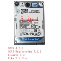 5 in 1 VW AUDI ODIS 4.2.3 Download Software + ODIS Engineering 7.2.2, Elsawin 5.3, Etka 7.5 Plus Software Hard Disk