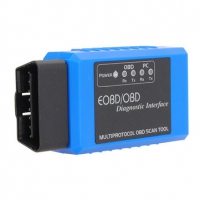 ELM327 Bluetooth OBD2 Scanner Bluetooth ELM327 OBDII EOBD Code Reader Scanner with Torque Android APP