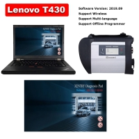MB SD Connect C4 With Lenovo T430 4G I5 Laptop Installed V2019.09 MB Star SD C4 Software