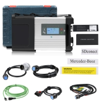 MB SD Connect C5 Doip Wifi Mercedes Benz SD Connect C5 Multiplexer For Mercedes Cars And Trucks