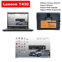 Super Wifi BMW ICOM A2+B+C Diagnostic & Programming Tool With Lenovo T430 Laptop installed V2019.3 BMW ICOM Software