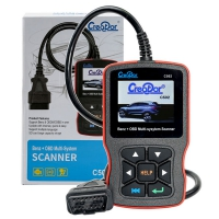 Creator C502 Benz OBDII EOBD Code Reader Mercedes Creator C502 Multi-system OBD2 Codes Scanner With V10.2 Creator C502 Mercedes Software
