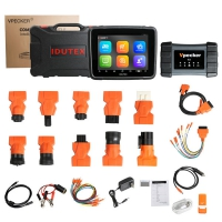 8 Inch XTUNER T2 Professional Truck Diagnostic Tablet lDUTEX Vpecker T2 Heavy Duty Truck Diagnostic Tool