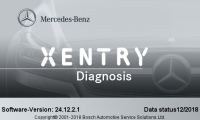 V2018.12 MB Star SD C4 Software 12/2018 Mercedes Benz Xentry OpenShell XDOS Software Work For MB Star SD Connect C4 And MB SD C5