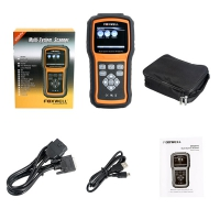 Foxwell NT 520 Mercedes BMW Porsche Code Reader Scanner Foxwell NT520 Pro Multi-System Scanner with 1 Free Car Brand Software+OBD Update Online