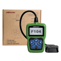 OBDSTAR F104 Key Programmer for Chrysler/Jeep/Dodge OBDSTAR F104 Pin Code Reader With Odometer Correction function No Tokens Free Update Online