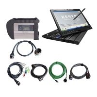 MB Star SD Connect C4 multiplexer with Thinkpad X201T Tabet pc installed V2017.9 Mercedes star diagnosis software ready to use