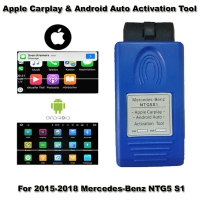 Apple Carplay Activator For Android Auto Mercedes-Benz Ntg5s1 Carplay Activation By Obd Unlock Mercedes CarPlay Function