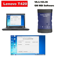 Wifi GM MDI Scanner GM MDI Multiple Diagnostic Tool &LenovoT420 installed V8.3.103.39 GM MDI GDS2 Tech2Win Software Ready to Use