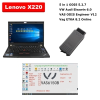 VAS 5054A ODIS 5.2.7 AUDI VW VAS 5054A With Lenovo X220 Laptop Installed V5.2.7 ODIS Download Software Ready To Use