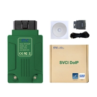 STIC SVCI DoIP JLR Diagnostic Equipment Wifi Jaguar Land Rover SVCI DoIP Diagnostic Tool with Pathfiner JLR SDD V156 Software Support Online Programming Function