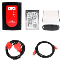 OTC Plus 3 in 1 OTC GTS Plus OBD Scanner For Toyota Nissan and Volvo Diagnose And Programming With V14.00.018 Toyota TIS Techstream Download Software