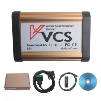 Bluetooth VCS Vehicle Communication scanner 2017 VCS Sanner bluetooth with VCS Scanner V1.50 software