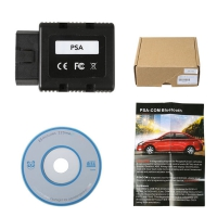 PSA-COM Bluetooth Diagnostic and Programming Tool New PSA-COM Peugeot/Citroen diagnostic interface Replacement of Lexia-3 PP2000