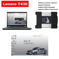 BMW ICOM NEXT A + B + C Wifi ICOM Next With Lenovo T430 4G I5 Laptop installed V2019.7 ISTA BMW Software