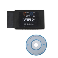 ELM327 Wifi OBDII Scanner ELM327 Wifi Wireless OBD2 Interface support Android and iPhone/iPad