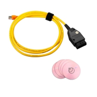 BMW ENET Coding Cable BMW ENET Esys Ethernet Interface BMW Enet Ethernet to obd cable For BMW E-SYS ICOM Coding F-Series