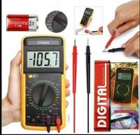 DT-9205A+ Portable Digital Multimeter‎ DMM DT-9205A+ AC DC Voltage Tester With Digital LCD