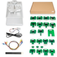 BDM Frame Table With LED With 4 Probes and Mesh + 22pcs BDM Probe Adapters Full Set for KESS Dimsport KTAG