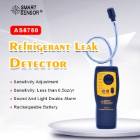 AS5750 Refrigerant Gas Leak Detector AS5750 Gas detector Automotive Air Conditioning Location Determine Tester alarm detect
