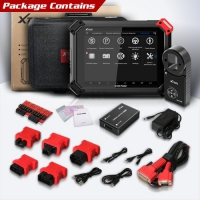 XTOOL X100 Pad2 Pro Full Configuration with KS-1 TOYOTA Smart Key Simulator and KC100 Key Programmer Adapter for All Lost