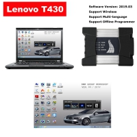 BMW ICOM NEXT A + B + C Wifi ICOM Next With Lenovo T430 4G I5 Laptop installed V2019.3 ISTA BMW Software
