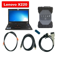 Mercedes Benz Xentry VCI C6 OEM Mercedes Benz C6 With Doip With Lenovo X220 Laptop Installed V2019.12 Software Keygen Included