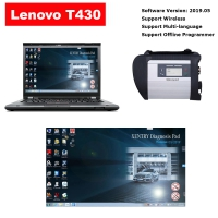 MB SD Connect C4 With Lenovo T430 4G I5 Laptop Installed V2019.07 MB Star SD C4 Software