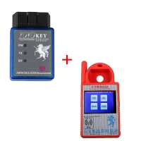 Mini CN900 Transponder Key Programmer + TOYO Key OBD II Key Pro Support Toyota G All Keys Lost