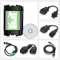 Volvo Vocom Adapter 88890300 Vocom Support Update Online Volvo Truck Diagnostic Tool with Round Adapter for Volvo/Renault/UD/Mack Truck Diagnose