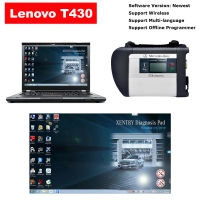 MB SD Connect C4 Multiplexer With Lenovo T430 4G I5 Laptop Installed V2020.03 MB Star SD C4/C5 Software Ready to Use