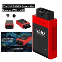 V5.2 VDM2 UCANDAS Wifi Android UCANDAS VDM II All system Automotive Scanner Support Android Phone & Tablet