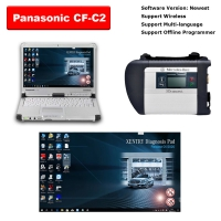 MB Star SD Connect C4 Multiplexer Mercedes With Panasonic CF-C2 4G I5 Laptop installed V2020.06 MB Star SD C4 Software