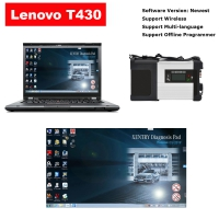 Super MB Star C5 & Lenovo T430 4G I5 Laptop Installed 03/2020 Mercedes Benz Xentry DAS EPC Complete Software