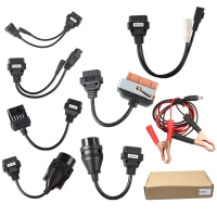 Delphi Car Cable 8 Car Line Autocom Car Line OBD Kit For Delphi Autocom VCI TCS And Multidiag Pro+