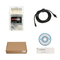 KTM OBD V1.95 ECU Programmer 2019 KTMOBD Car ECU Programmer With KTM OBD Software And USB Dongle