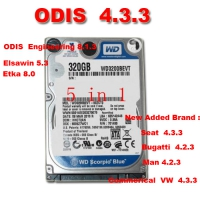 ODIS VW AUDI 5 in 1 ODIS 4.3.3 Software VAG ODIS 4.3.3 Download Software With ODIS Engineering 8.1.3 Download, Elsawin 5.3, Etka 8.0 Software
