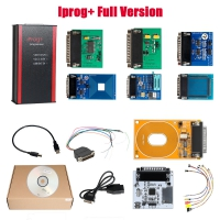 V84 Iprog+ Iprog Pro Programmer Full Version Iprog Plus With 7 Adapters + Probes Adapters + IPROG Plus PCF79xx SD Card Adapter + Universal RDIF Adapter