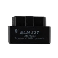 Super Mini ELM327 Bluetooth Torque V1.5 Bluetooth ELM327 Mini OBD2 OBDII Code Reader Scanner Black Color