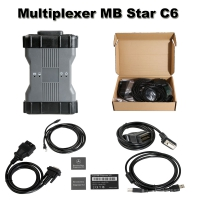 OEM MB Star C6 Mercedes Benz Xentry diagnosis VCI Benz C6 Multiplexer With Doip Fuction And V2018.9 Mercedes Xentry/Das Software No Need Activation