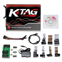 Ktag 7.020 EU Online Master V7.020 Ktag EU Clone With Red PCB Firmware No Tokens Limitation
