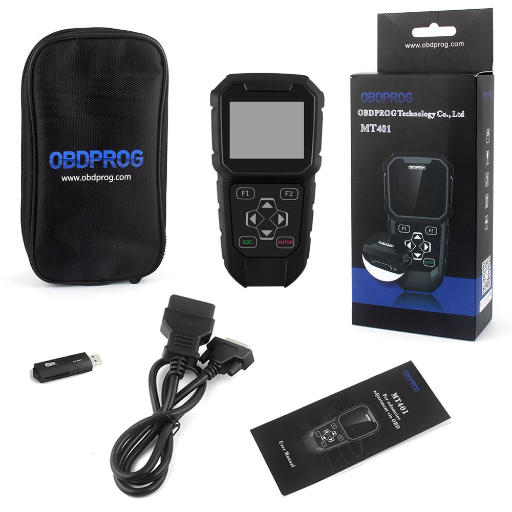 OBDPROG MT401 Pro Special for Odometer Adjustment And OBDII