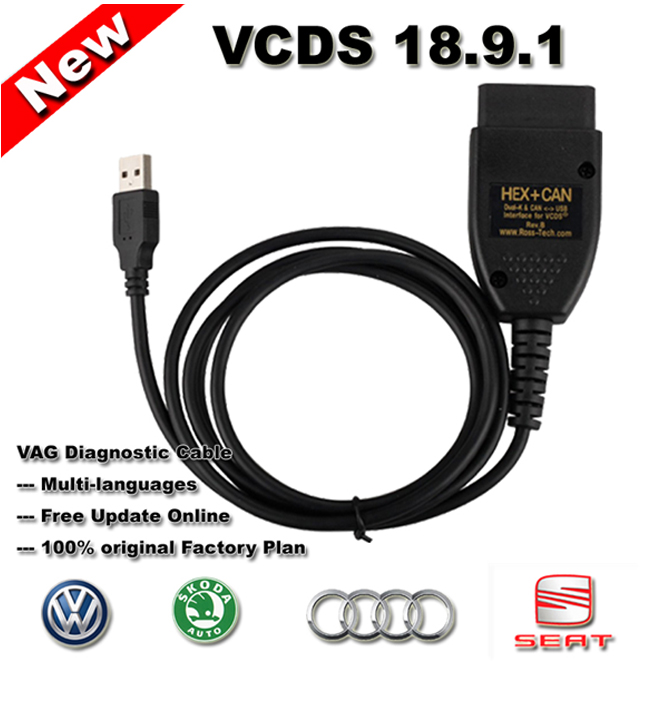 Ross Tech VCDS 18.9.1 Crack Cable