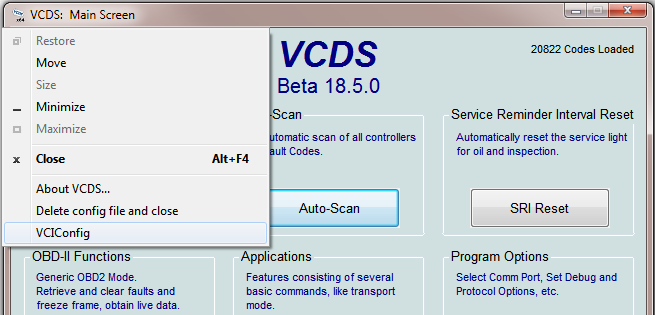 VCDS 18.5.0 Software